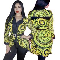 New Design Spring Long Sleeves Women Shirt YZ1689
