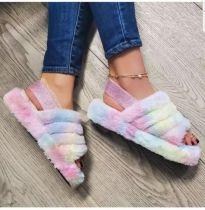 Flat non-slip indoor all-round comfortable sandals outdoor casual ladies ZH1001