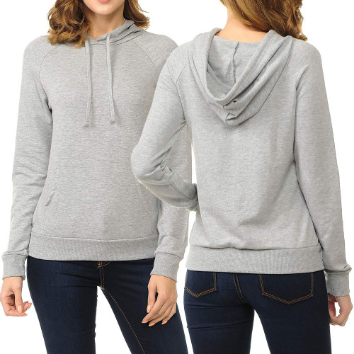 New Arrival Fashion Casual Solid Hoodies SMR9151