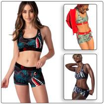 Digital printing vest set multi-color spot MD323