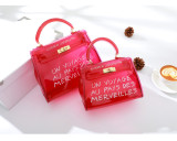 Letter jelly bag messenger bag fashion handbag YQ2353