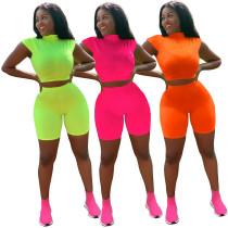 Hot Sale Bodycon Pure Color Cheap Women Track Suits A8432