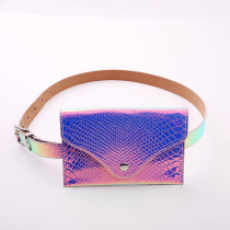 Laser magic color ladies pocket mobile phone street fashion belt CX20190719A