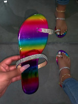Diamond Flat Sandal Slippers BY9225