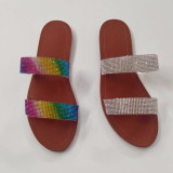 Fashionable flat shoes summer women's sandals LYH616410607770