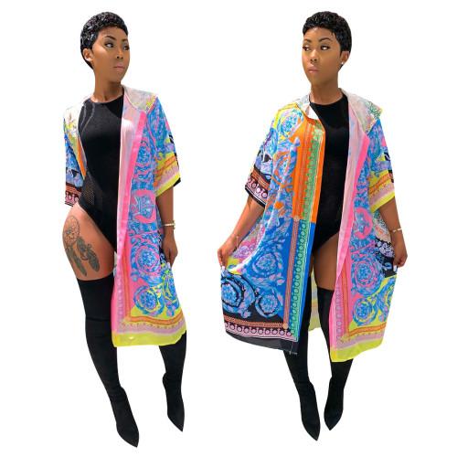 Shawl coat in stock YZ1886