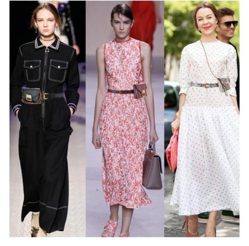 Fashion snake belt bag women's casual clothing with diagonal chain belt women's belt PD996