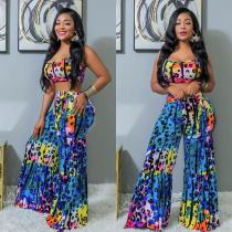 Sexy print two-piece set DM8078