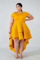 Women's free-tailed dress  DM031