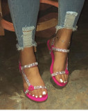 Summer diamond sandals and slippers fashion women's shoes LYH615308325472