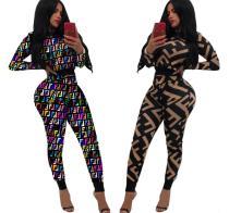 Women Printed 2 Pcs Outfit QQM3567