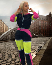 HOT-HOT Fashion Women Long Sleeves Tracksuit lA3068