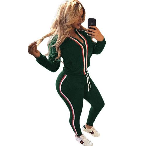 Hot Stripes Women 2 Piece Tracksiuit NY6041