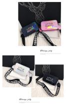 Radio letters with wide shoulder straps in Baitao oblique Bag Z575760639512