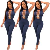Fashion Slim Bodycon Club Jumpsuit For Lady ED8073