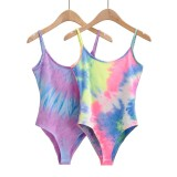 Summer sexy slim-fit halter camisole female painted bottoming bodysuit H0620254
