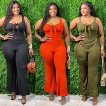 Womens sexy pit bar plus size fat lady Womens suit two-piece suit AJ6111