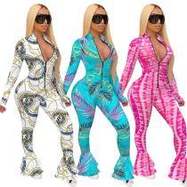 Hot sale slim fashion fishtail pants F8295