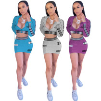 Womens sports home short skirt suit two-piece suit YZ512