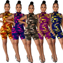 Womens suspenders sexy camouflage suit (including bandage mask) LA3211