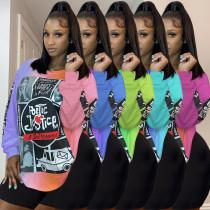Sexy style printed fashion casual T-shirt KSN8021