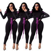 Bandage sexy jumpsuit nightclub outfit YSH6182