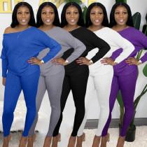 Womens fashion casual autumn pit strip 5 color sports and leisure suit ALS229