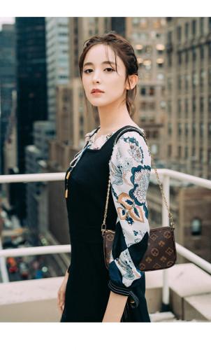 Fashion Printed Three Piece Mahjong Bag Set  Q616652744324