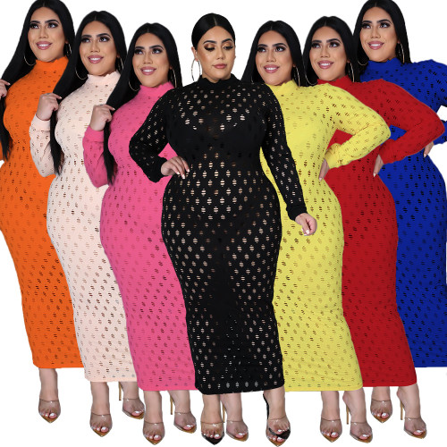 5XL fat lady fat plus size Womens mesh stretch skirt dress SJ5278