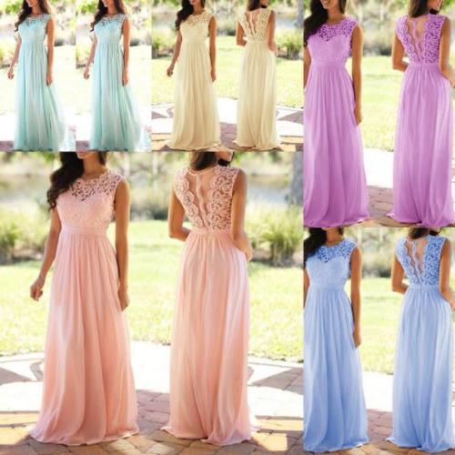 Round neck sexy lace dress dress chiffon dress OYW9040