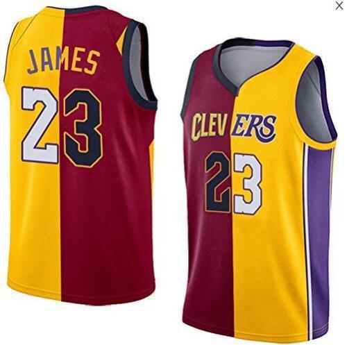 James FMVP top 6 and 23 mandarin duck stitching jerseys Cavaliers Lakers Heat team finals basketball uniforms P639188920934