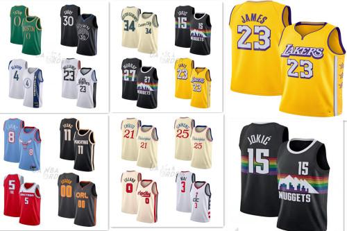 NBA Jersey Bulls Team 23# Jordan M&n Embroidered JORDAN Basketball Basketball Jersey PH618243521614