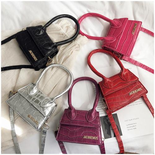 Korean style popular fashion one-shoulder portable messenger small square bag QJ8043