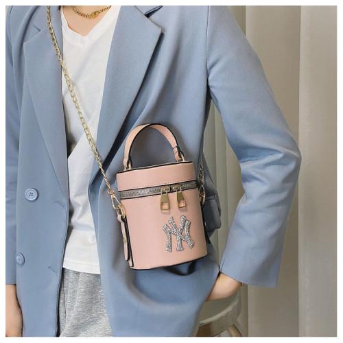 Simple personality bright diamond chain bag shoulder messenger handbag HJ-8933