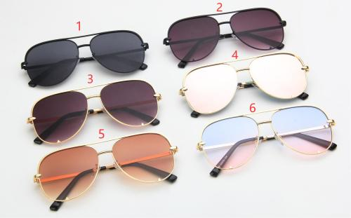 Metal double beam sunglasses KD6256