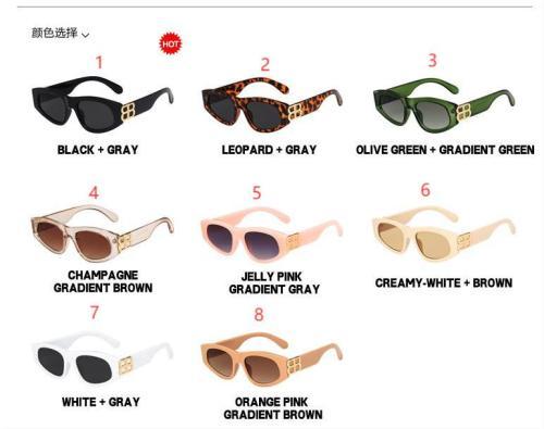 Triangle cat eye sunglasses KD98054