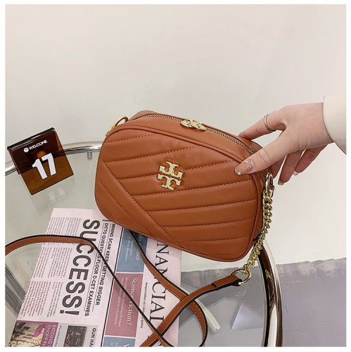 Lingge messenger bag all-match small square bag large capacity camera bag female chain fashion bag B638955517523