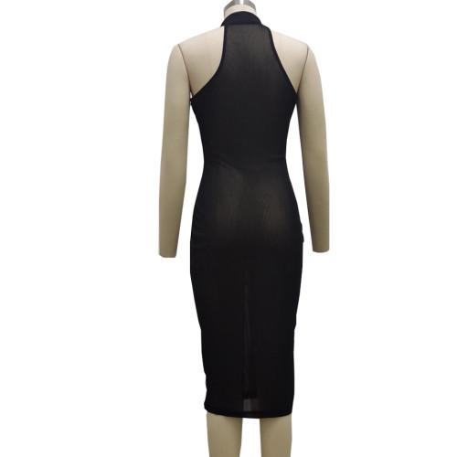 Fashion nightclub high stretch mesh dress SMR10171
