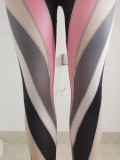 Digital printed sexy one-piece sports tights FFD1114