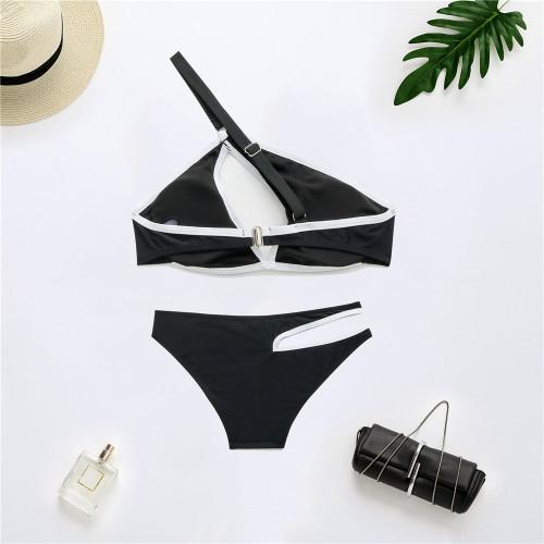 New bikini solid color swimsuit YS2104