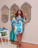 Fashion sexy plus size dress L-5XL YC085