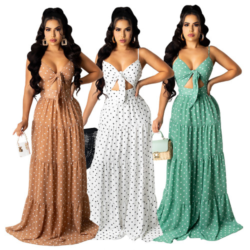 Sexy Women's Mopping Lightweight Fashion Dress HN032