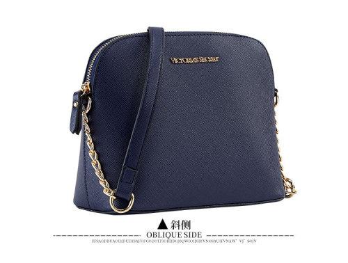 pu ladies shoulder bag chain crossbody shell bag Bags578109000082