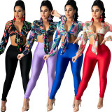Two sets of sexy fashion digital printed chest straps SMR10283
