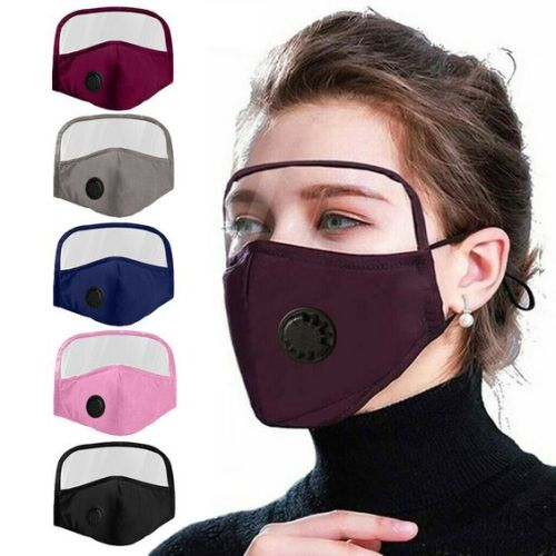 (Clearance Sale)2020 NEW Cotton Mask with Eyes Shield