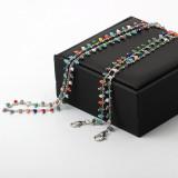 Crystal Mask Holder Necklaces