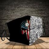 3D PRINTED DESIGNSBACTERIA/REUSABLE-MACHINE-WASHABLE CUSTOM FACE MASKS