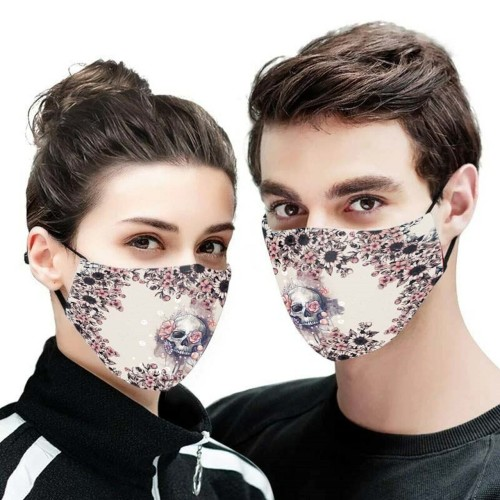 3D PRINTED DESIGNSBACTERIA/REUSABLE-MACHINE-WASHABLE CUSTOM FACE MASKS