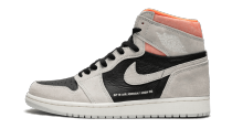 Air Jordan 1 Retro High Neutral Grey Hyper Crimson