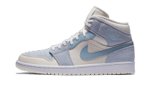 Air Jordan 1 Mid Mixed Textures Blue